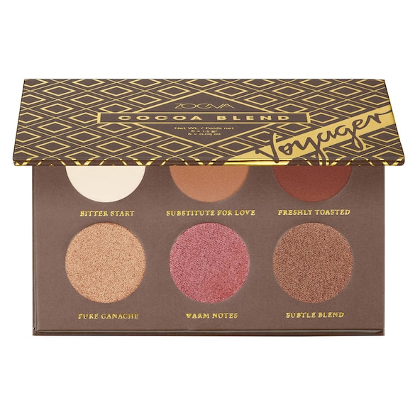 Voyager Cocoa Blend Eyeshadow Palette - Mini Paleta cieni do powiek, ZOEVA