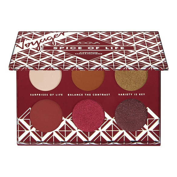 Spice Of Life Eyeshadow - Minipaleta cieni do powiek, ZOEVA